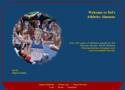 world track and field athletics almanac